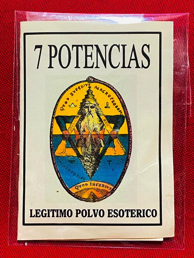 LEGITIMO POLVO ESOTERICO 7 POTENCIAS
