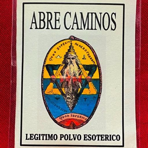 LEGITIMO POLVO ESOTERICO ABRE CAMINOS