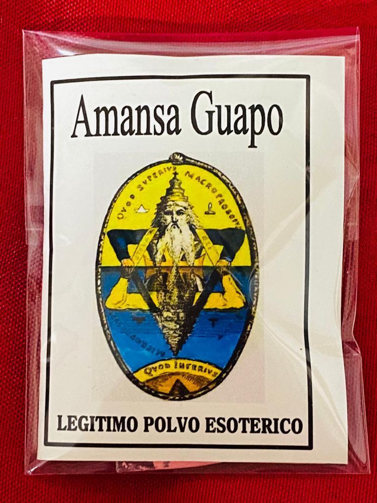 LEGITIMO POLVO ESOTERICO AMANSA GUAPO