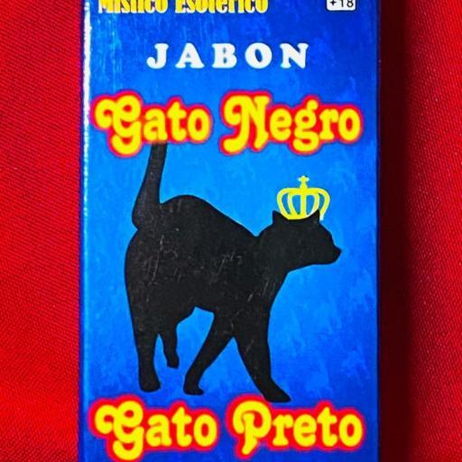 Jabon Esoterico Gato Negro