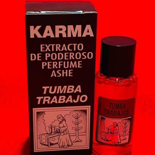 PERFUME ASHE TUMBA TRABAJO