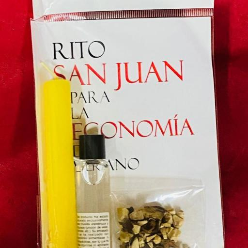 Kit Ritual San Juan ( para potenciar la economia )