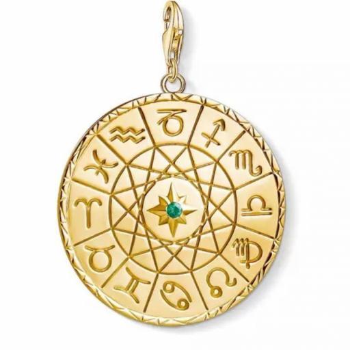 Amuleto - Talismán Zodiaco - Plata de Ley 925 (Ritualizado) Ø 30mm