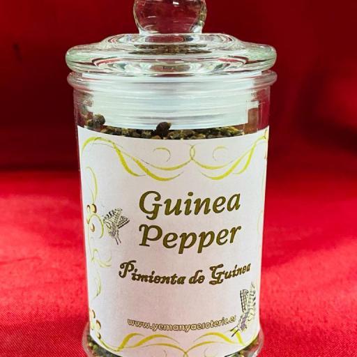 PIMIENTA DE GUINEA Tarro Cristal 80 gr.
