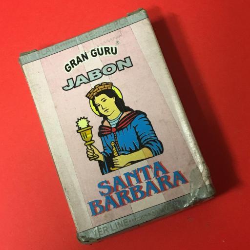 ☆ SANTA BARBARA ☆ JABON ESOTERICO