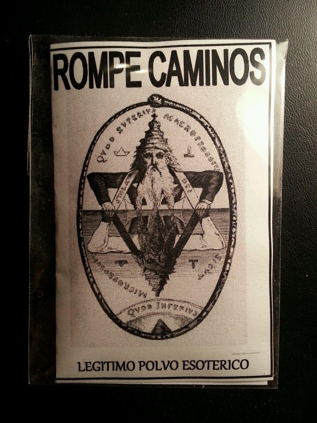LEGITIMO POLVO ESOTERICO ROMPE CAMINOS