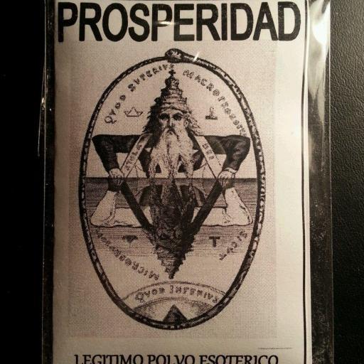 LEGITIMO POLVO ESOTERICO PROSPERIDAD