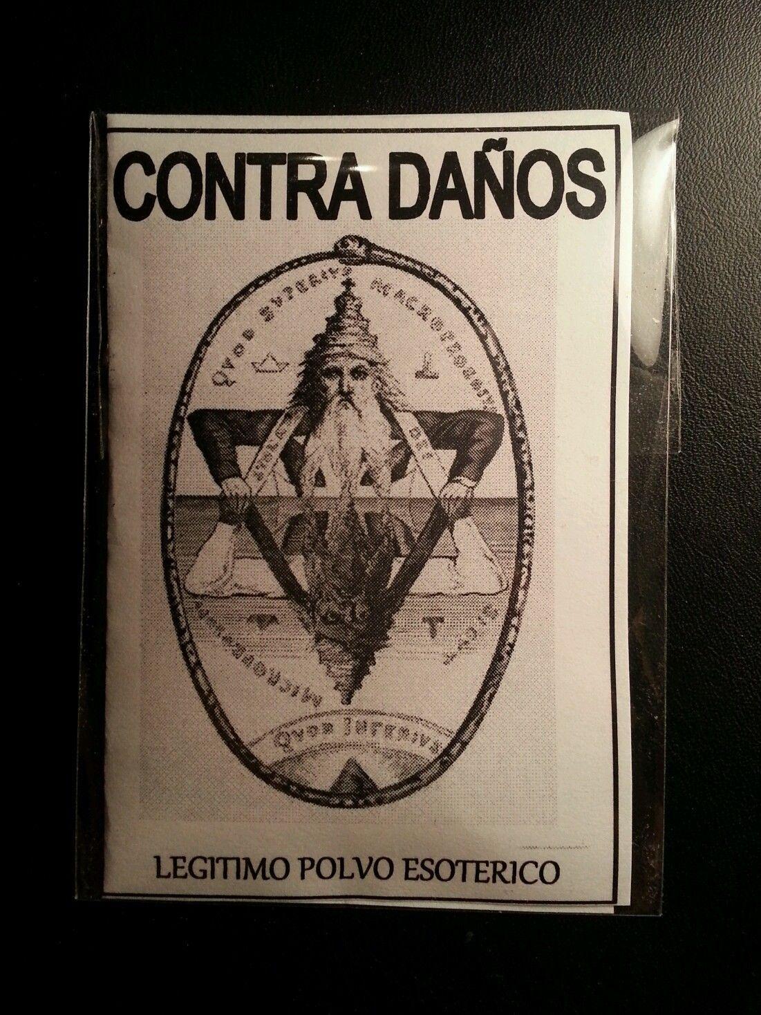 LEGITIMO POLVO ESOTERICO  CONTRA DAÑOS