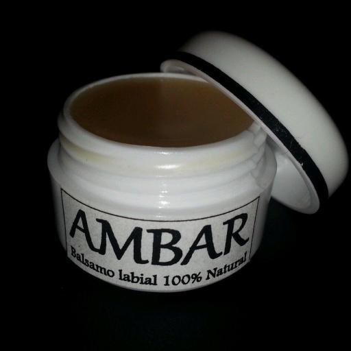 BALSAMO LABIAL AMBAR- 100% NATURAL 5 ml