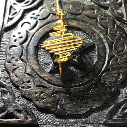 PENDULO ESPIRAL CUADRADO 4,5 cm