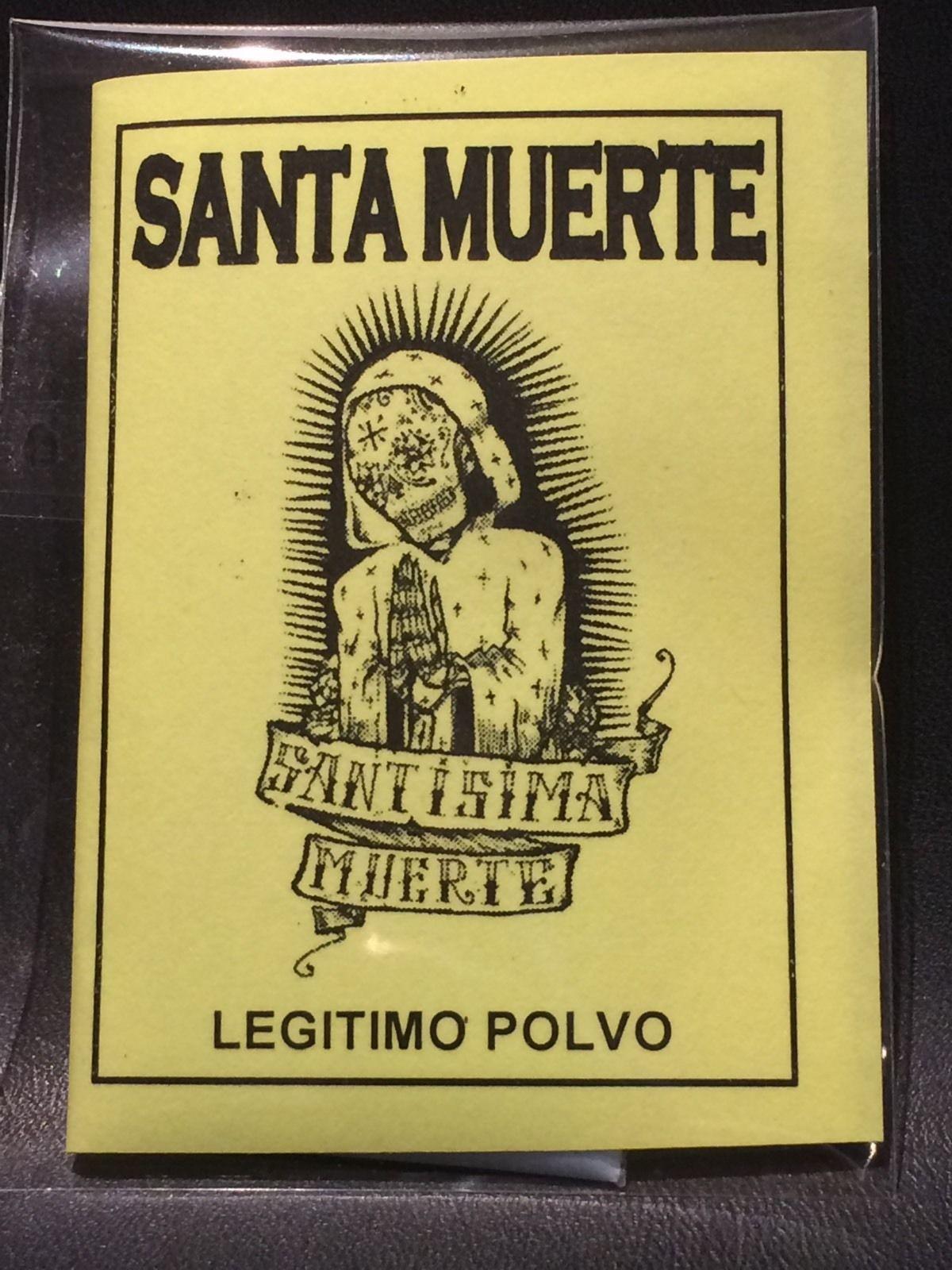 "LEGITIMO POLVO ESOTERICO ESPECIAL "" SANTA MUERTE """