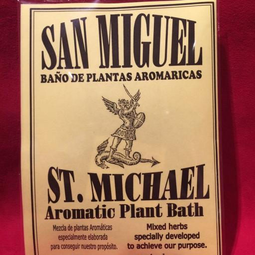 BAÑO DE PLANTAS SAN MIGUEL