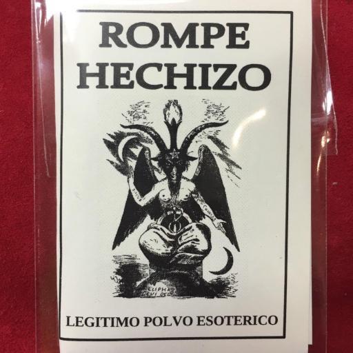 ☆ ROMPE HECHIZO ☆ LEGITIMO POLVO ESOTERICO ESPECIAL !!!