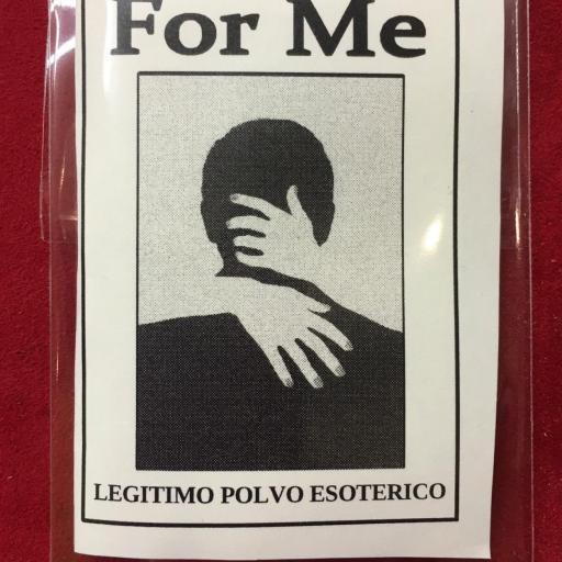 ☆ FOR ME ☆ LEGITIMO POLVO ESOTERICO ESPECIAL !!!