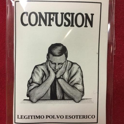 ☆ CONFUSION ☆ LEGITIMO POLVO ESOTERICO ESPECIAL !!!