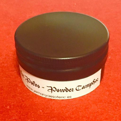 ALCANFOR/ CAMPHOR tarro 15 gramos [1]