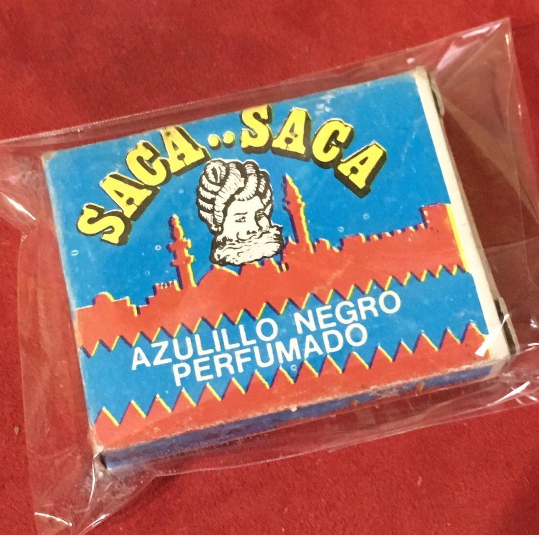 ☆ SACA SACA ☆ AZULILLO NEGRO VENEZUELA
