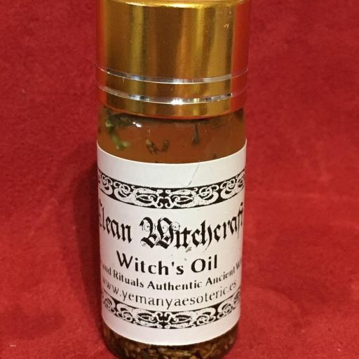 """Witches' Oil  """" Clean Witchcraft  """" 10 ml"""