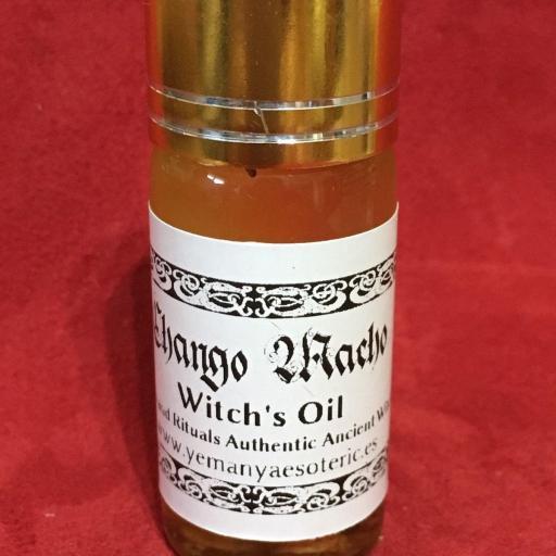 """Witches' Oil """" Chango Macho """" 10 ml"""