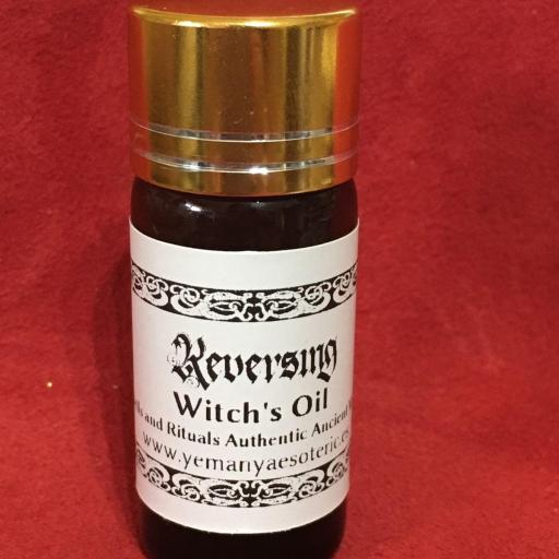 """Witches' Oil """" Reversing  """" 10 ml"""