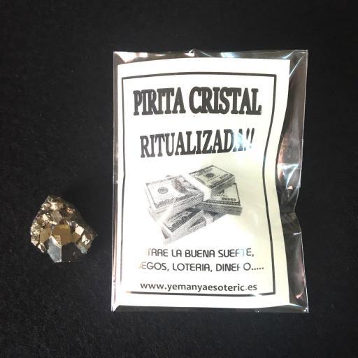 ☆ PIRITA CRISTAL RITUALIZADA ☆