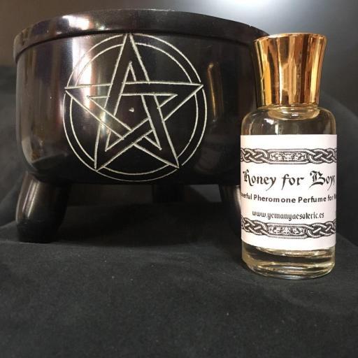 ☆ MIEL PARA CHICOS ☆ Powerful Pheromones Perfume for men ☆ 12 ml.