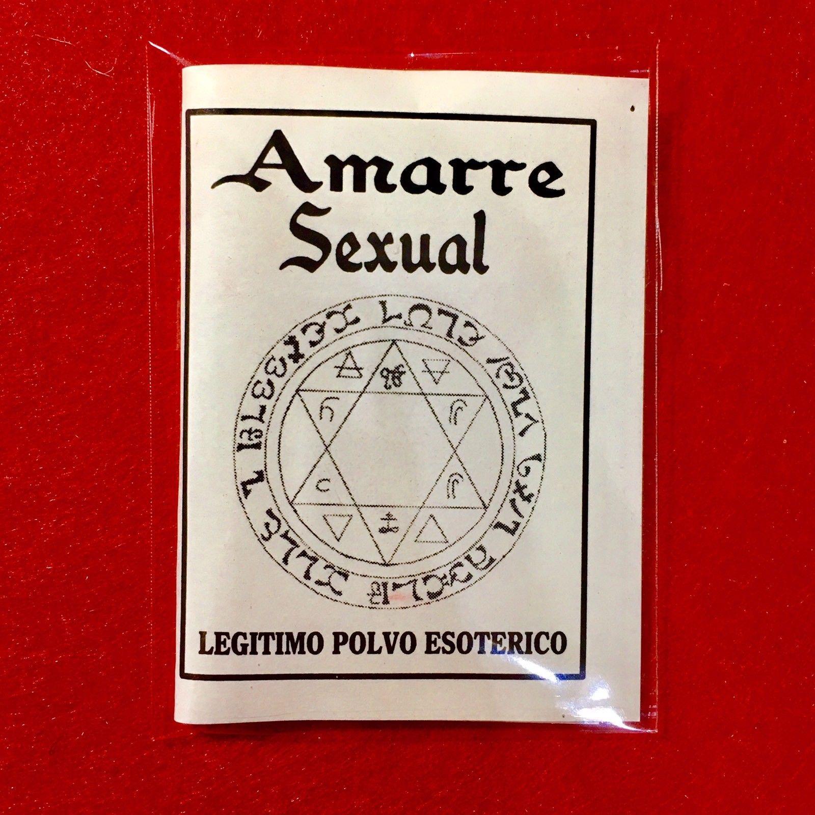 ☆ AMARRE SEXUAL ☆ LEGITIMO POLVO ESOTERICO ESPECIAL !!!