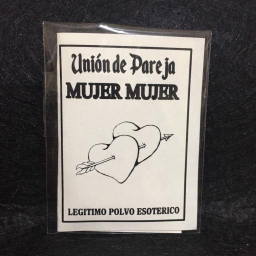 ☆ UNION DE PAREJA ☆♀♀  LEGITIMO POLVO ESOTERICO ESPECIAL !!!