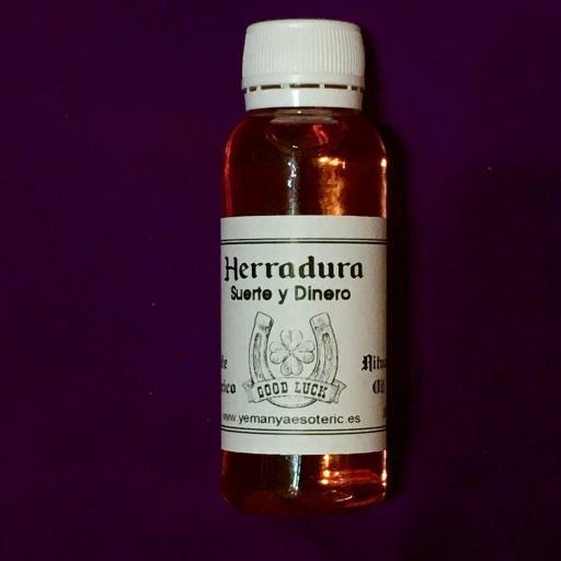 ☆ HERRADURA☆ ACEITE ESOTÉRICO PARA RITUALES 30ml.