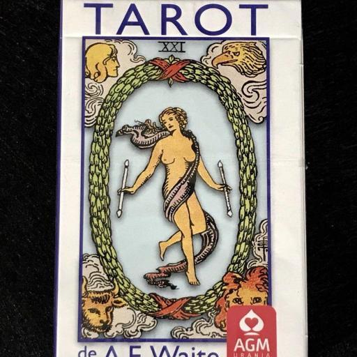 TAROT WAITE A.E POCKET ED. AZUL ESPAÑOLA 78 CARTAS