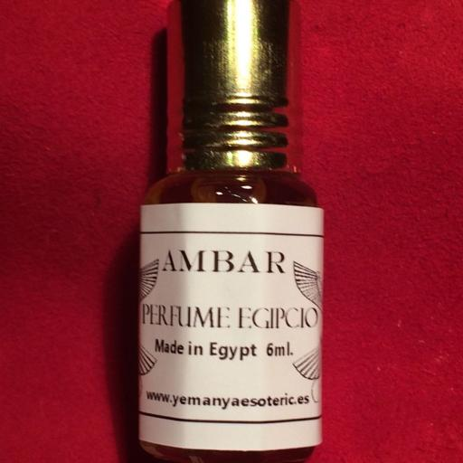AMBAR Perfume Corporal Egipcio 6 ml