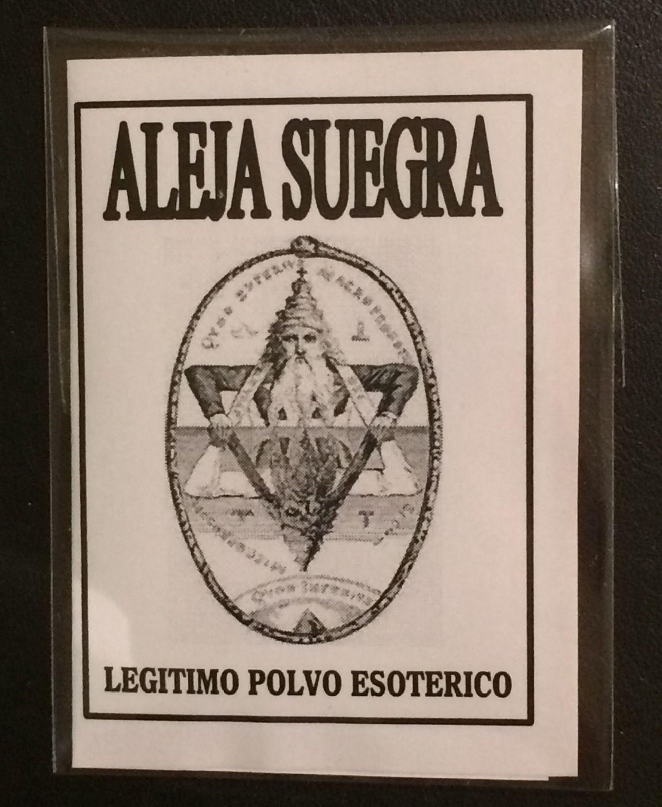 LEGITIMO POLVO ESOTERICO ALEJA SUEGRA