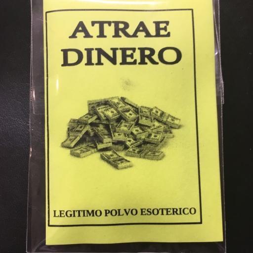 ☆ ATRAE DINERO ☆ LEGITIMO POLVO ESOTERICO