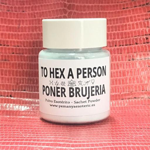 POLVO ESOTERICO PONER BRUJERIA