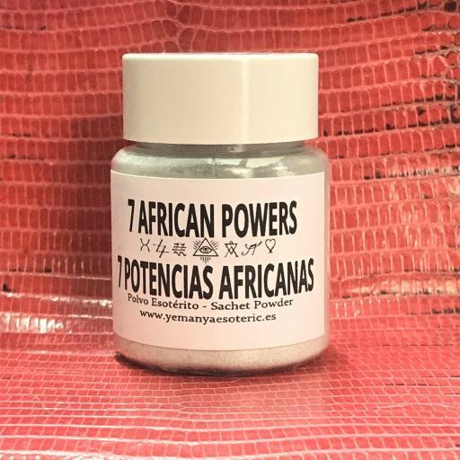 POLVO ESOTERICO 7 Potencias Africanas