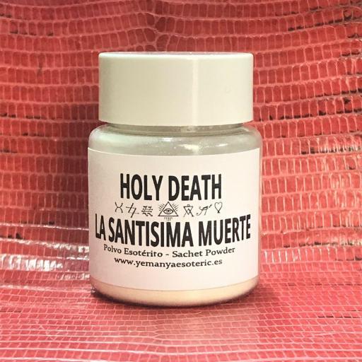 POLVO ESOTERICO LA SANTISIMA MUERTE
