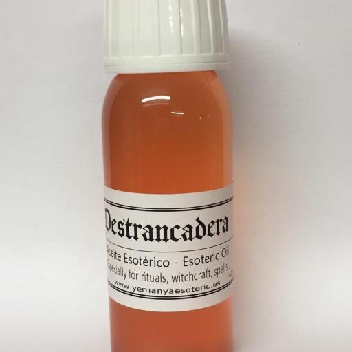 """ACEITE ESOTERICO """"DESTRANCADERA"""" 60 ml"""