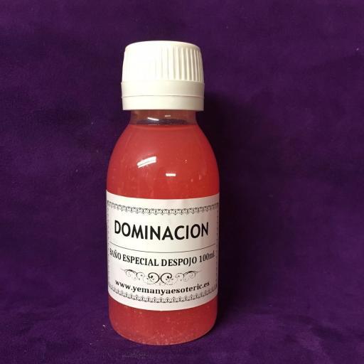 """BAÑO ESPECIAL DESPOJO """" DOMINACIÓN """" 100 ml"""