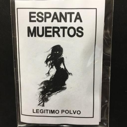 ☆ ESPANTA MUERTOS ☆ LEGITIMO POLVO ESOTERICO