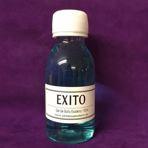 """GEL DE BAÑO ESOTERICO """" EXITO """" 100 ml"""
