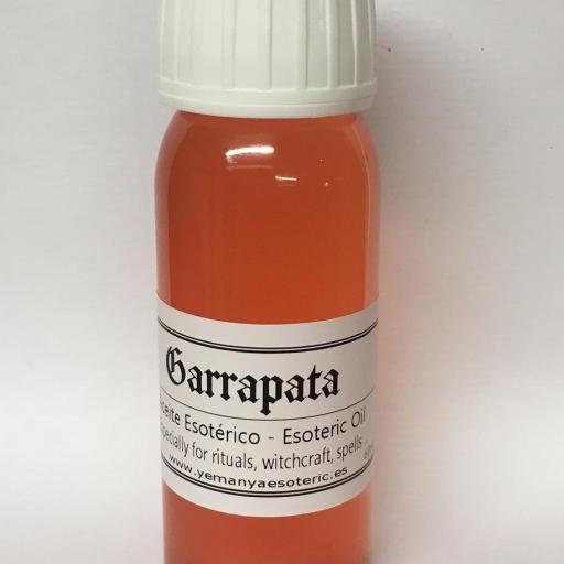 """ACEITE ESOTERICO """"GARRAPATA """" 60 ml"""