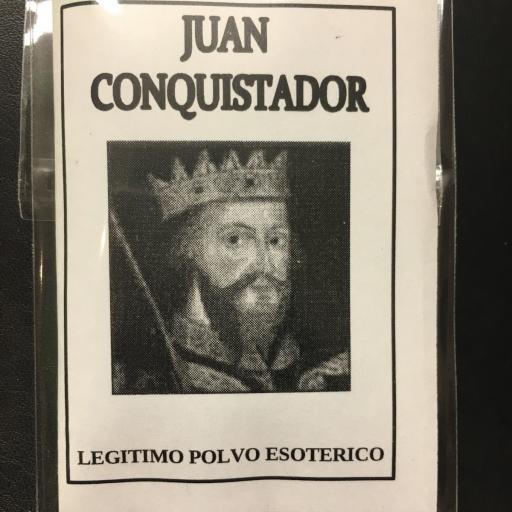 ☆ JUAN CONQUISTADOR ☆ LEGITIMO POLVO ESOTERICO