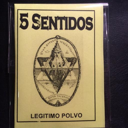 LEGITIMO POLVO ESOTERICO 5 SENTIDOS
