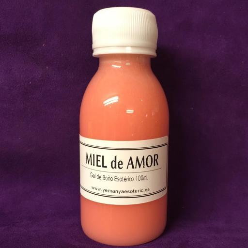 """GEL DE BAÑO ESOTERICO """"MIEL DE AMOR"""" 100 ml"""
