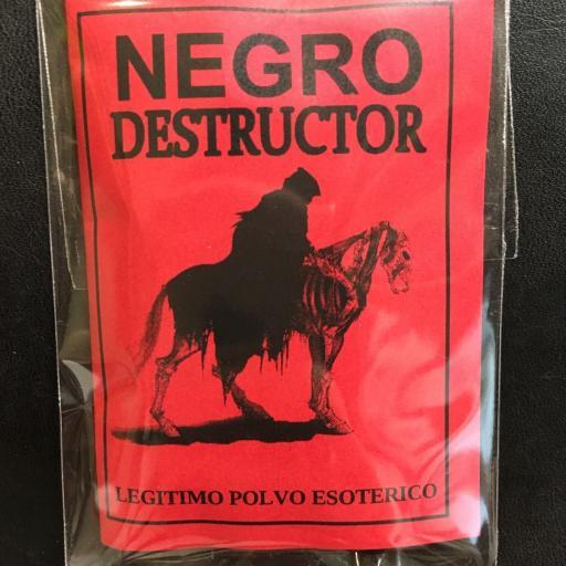 LEGITIMO POLVO ESOTERICO ☆ NEGRO DESTRUCTOR ☆
