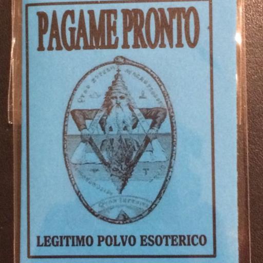 LEGITIMO POLVO ESOTERICO PAGAME PRONTO