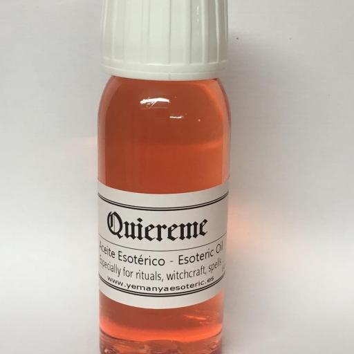 """ACEITE ESOTERICO """"QUIEREME"""" 60 ml"""