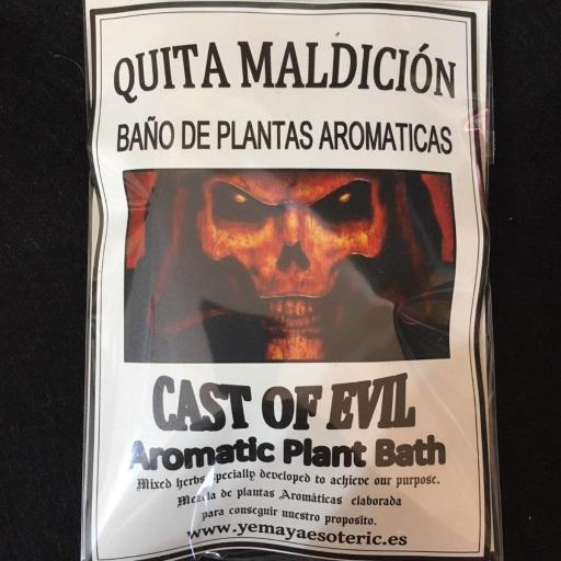 BAÑO DE PLANTAS QUITA MALDICION