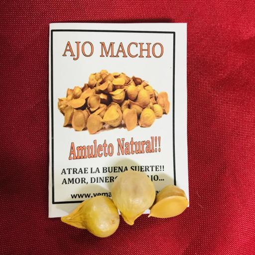 x 100 bolsas AJO MACHO (3 und.)