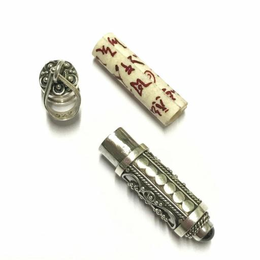 Protección Maleficios Vampiros Brujas Espíritus ¡Amuleto poderoso! Plata de ley 925